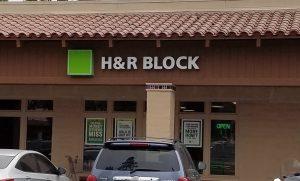 タックスリターンはH&R BLOCKでやりました