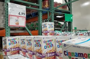 Cinnamon Toast Crunch。$4.89