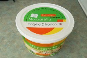 angelo & franco Marinated Ciliegine Mozarella