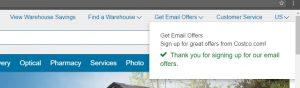 Eメール登録完了