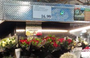 バラ12本で$16.99