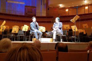ポール・ホアン(左)とアラン・チャップマン(右)