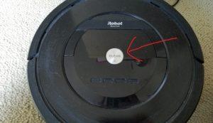 まずは真ん中の「CLEAN」ボタンを押します。