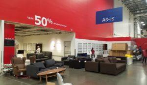 IKEAの処分品コーナー As-is