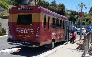 Balboa Peninsula Trolley