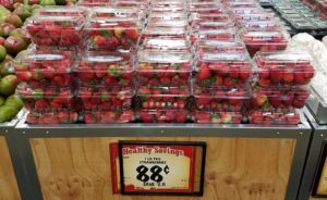 イチゴが1lbで88¢
