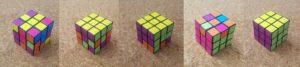 ルービックキューブの揃え方