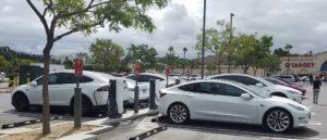 Tesla Vehicle Charging Only