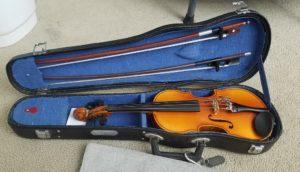 1/4サイズのバイオリン
