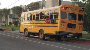 スクールバスのストップサイン