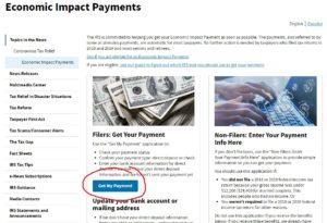「Get My Payment」をクリック!!