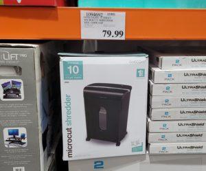 コストコでマイクロカット シュレッダーが$79.99