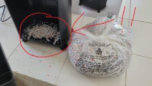 付属のゴミ袋